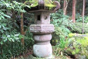 Ancient lantern in Sendai