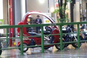 Мотоцикл с крышей