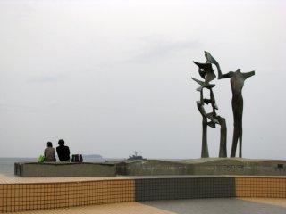 The park faces Sagami Bay