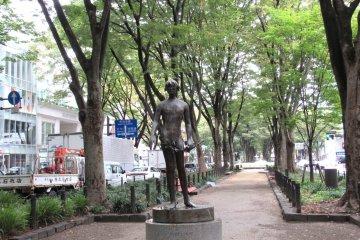 Современная скульптура в Сендае