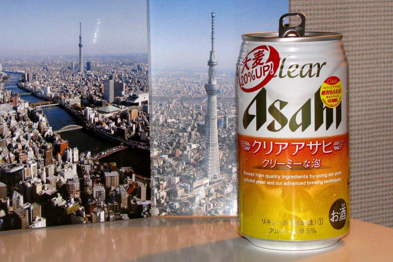 Пиво Asahi Clear