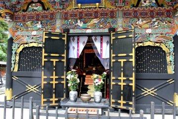 В мавзолее хранится прах Масамунэ