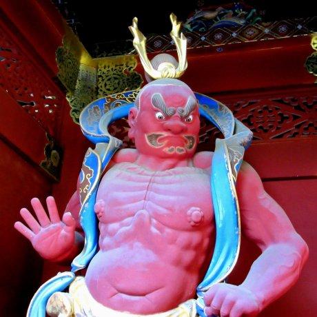 Хранители храмов в Японии