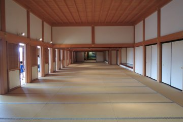 A room you might see in a samurai movie scene