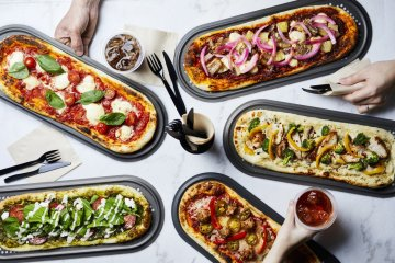 A dazzling multitude of pizza combos awaits