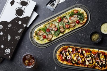 Alternatively, opt for the featured pizzas on the menus