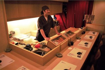 Get to know Tono-san as you enjoy your sushi