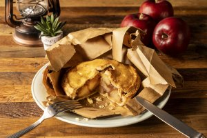 'Baked in Bag' Apple Pie