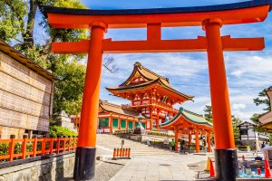 Shrine at Fushimi Inari Jinja