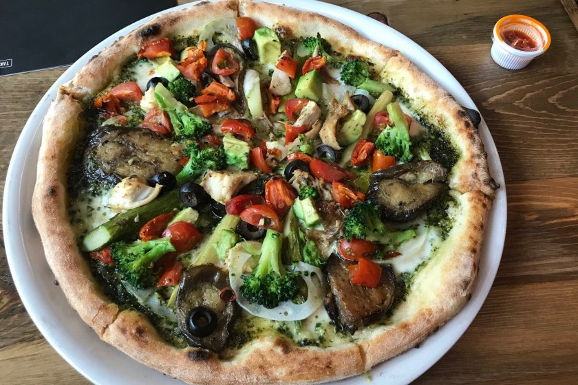 Hard to find a Veggie Pizza that can match this!
