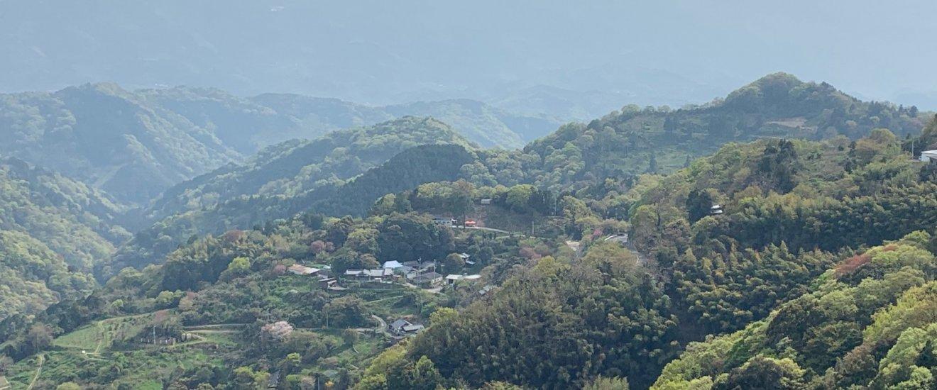 A chocolate redoubt in the Mountains of Kiriyama, Shikoku