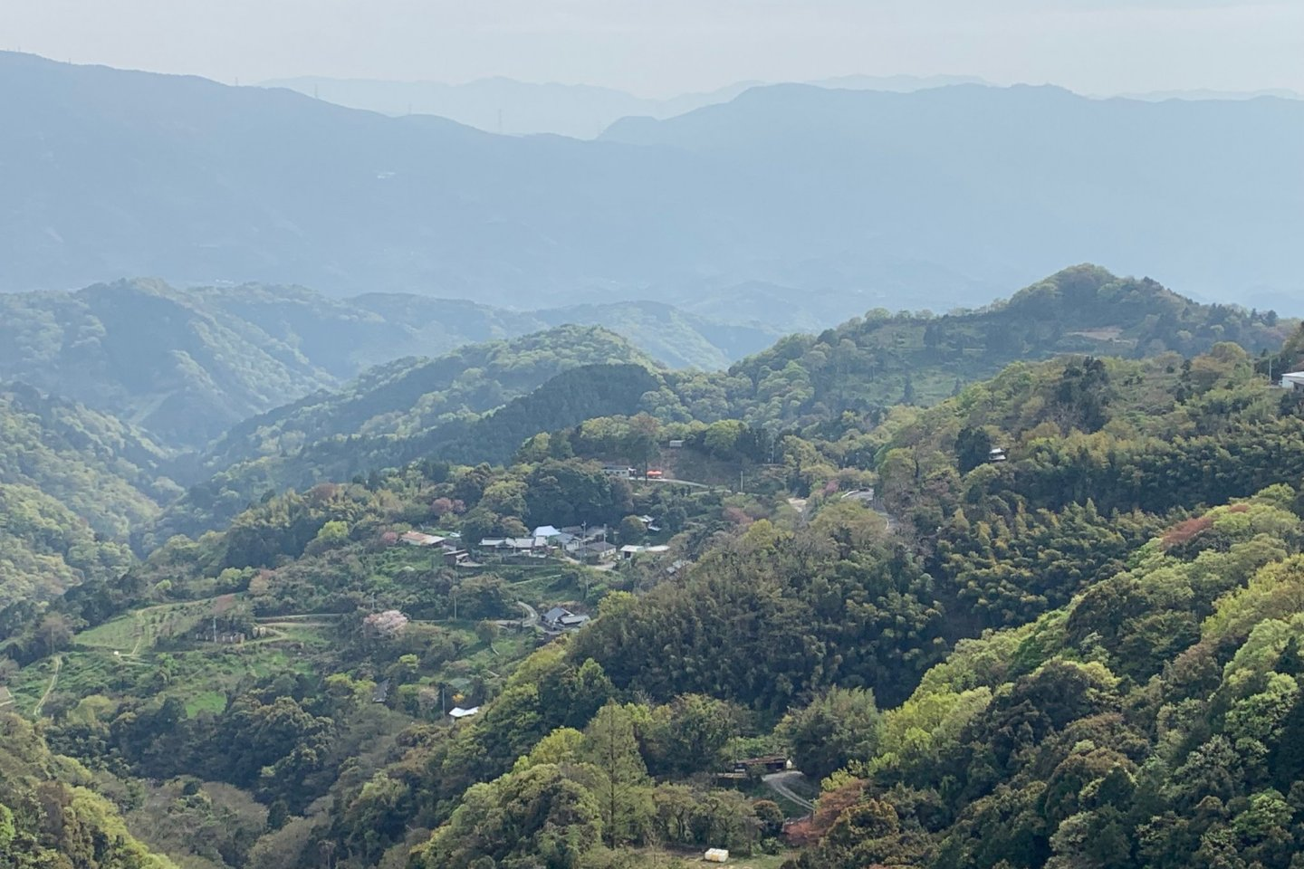 A chocolate redoubt in the Mountains of Kiriyama, Shikoku