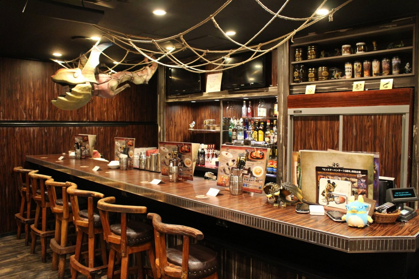 Hunter S Bar A Real Monster Hunter Bar In Tokyo Japan Travel