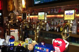 Sideways has four beers on tap, many more bottled varieties and a full selection of liqour for mixed drinks