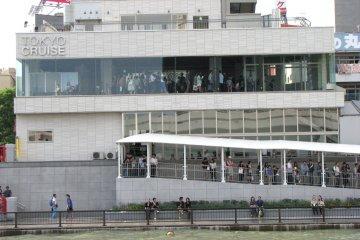 Речной круиз по центру Токио