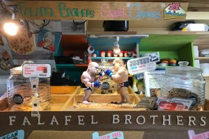 Loads of charm and quirk at Falafel Brothers