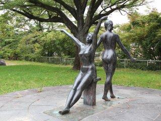 Modern sculptures