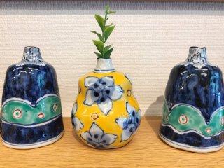 Sweet little vases