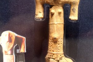 Ancient clay figurines