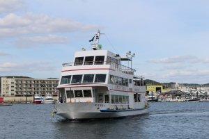 Cruise boat to Matsushima