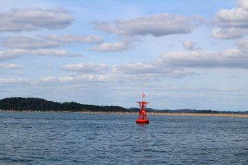 Heading out to the Matsushima Bay