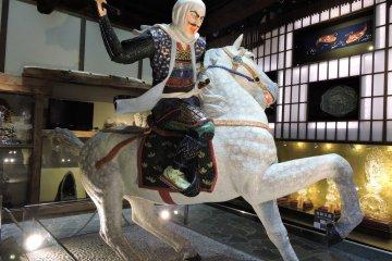 Uesugi attacking Takeda