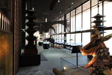 Lower floor of the museum