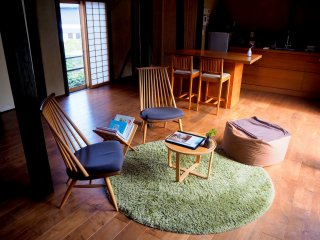 What makes Ojika so special are its kominka, aka Japanese folk houses. You can rent out the whole house for yourself.