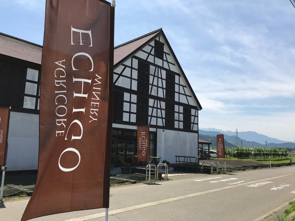 Drawing inspiration from European wineries