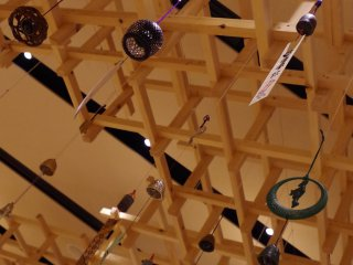 Wind chimes can be made of materials other than glass - metal and porcelain. So groups of wind chimes produce variation of sounds like an orchestra.