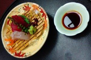 Sushi at Fukutomi