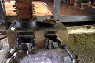 Печь, которой пользовались пару столетий назад