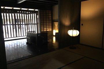 Внутренние комнаты японского жилища
