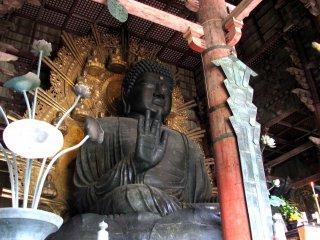 Daibutsu at Todaiji, Nara