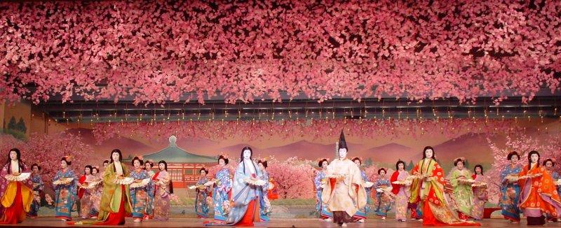 Stunning aesthetics at the Miyako Odori