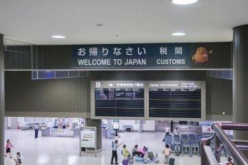 Добро пожаловать в Японию, но сначала, таможенное оформление