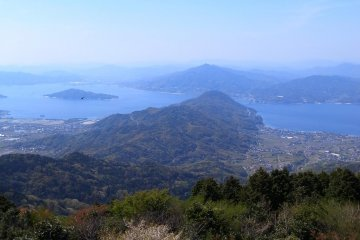 Breathtaking view from Mt. Monju.