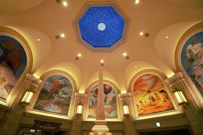 Inside Soaring palace
