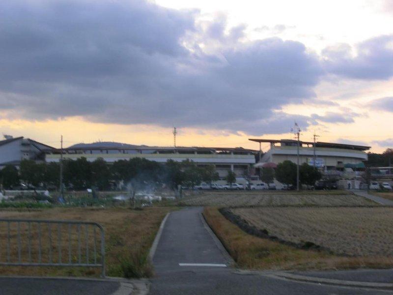 Nara Velodrome, from Heijo station side