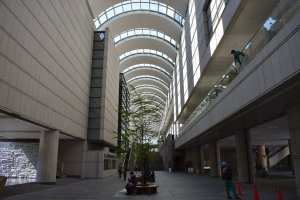 The foyer of Tokyo Opera City