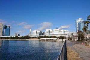 Koto City is blessed with lots of water, the perfect place for a water museum