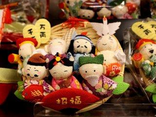Shichi-fuku-jin bring good fortune