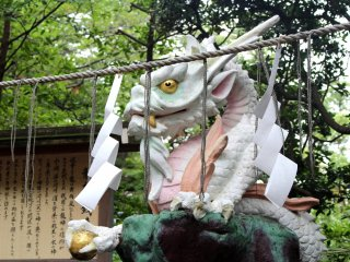 One of the dragons of Enoshima