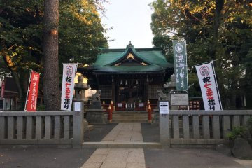 Deeper into the shrine complex