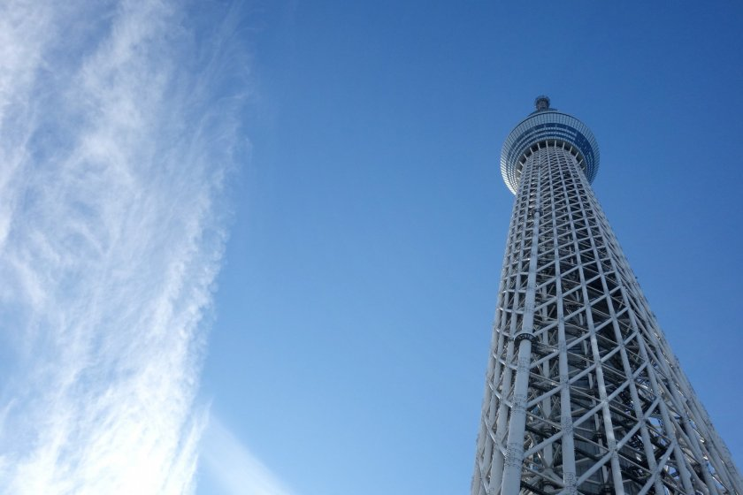 The stunning heights of Tokyo Skytree