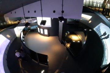 Inside the centre