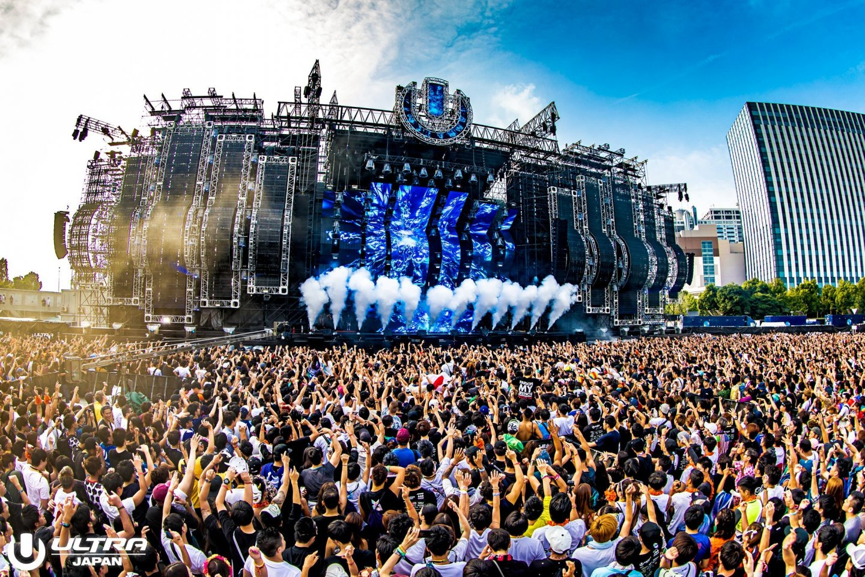 Ultra music festival in japan
