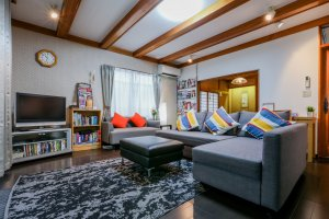 The Gotanda House is perfect for large family groups.