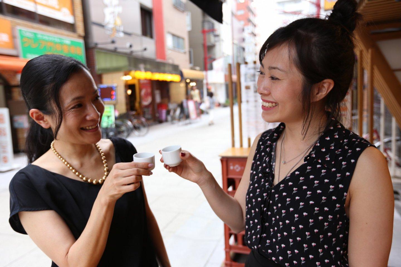 Degustação de saquê com a sommelier Satoko Utsugiem em Tóquio