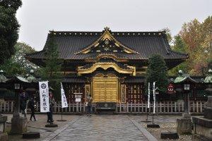 Toshogu Shrine in Ueno Park